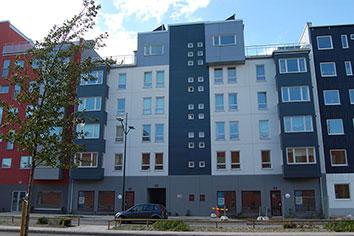 Östra Varvsgatan 40 och Fregattgatan 20.
